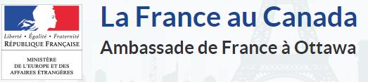Ambassade de France au Canada.