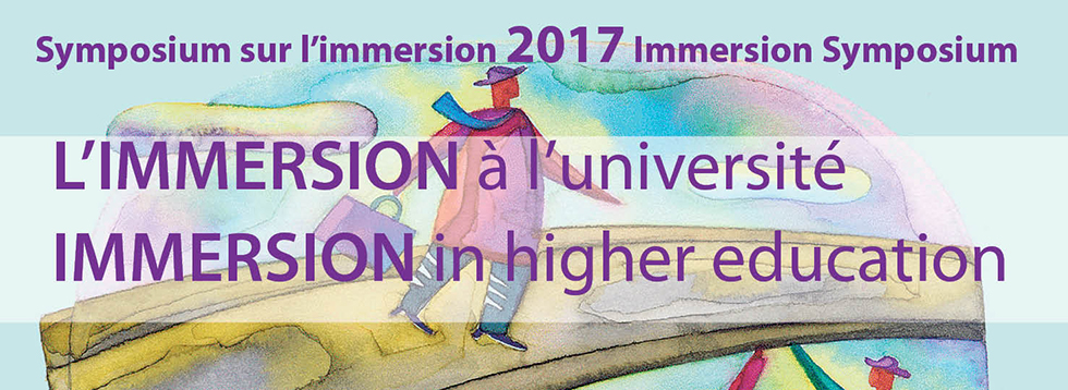 Symposium d'immersion 2017