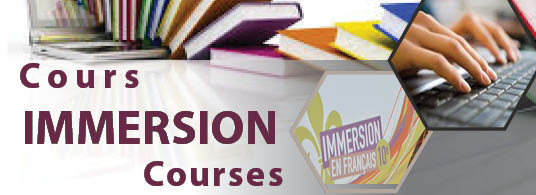 Cours d'immersion 2017-2018