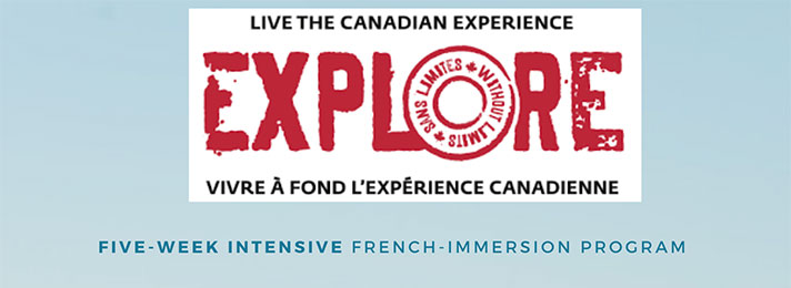Explore French Immersion Program