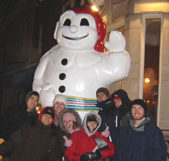 Club d'immersion in Quebec City for Carnaval