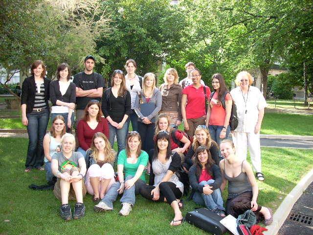 Immersion students in Lyon, France