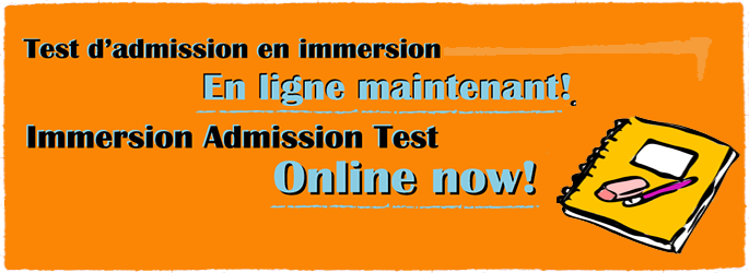 Immersion Admission Test